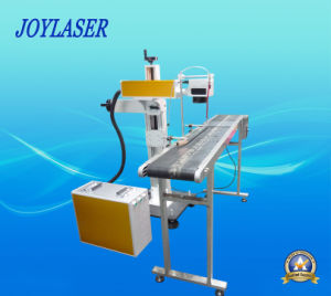 Long Performance Life 30W Rfco2 Laser Flying Marking Machine