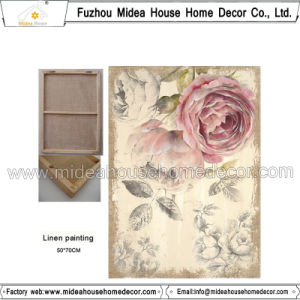 Cheap Wholesale Custom Printed Printed Linen Fabric pictures & photos