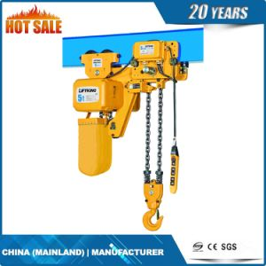 Ultra Low Headroom Electric Chain Hoist with 2 Chain Fall (ECH 02-02LS) pictures & photos