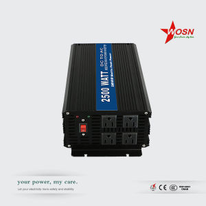 Inversor 2500W 12V-220V DC AC Type Single Phase Inversor pictures & photos