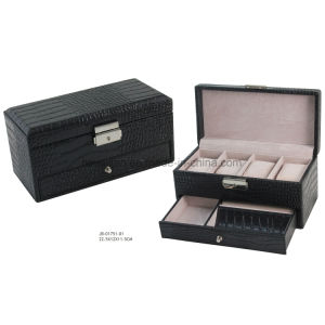 PU Leather Watch Packing Storage Watch Box pictures & photos