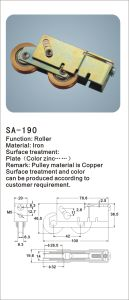 Copper Roller for Sliding Window and Door/ Hardware (SA-190) pictures & photos