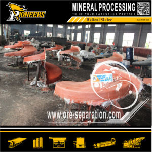 Mineral Processing Manganese Ore Gravity Concentration Spiral Chute Factory pictures & photos