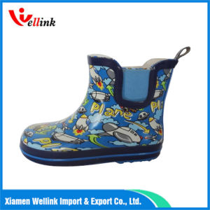 PVC Waterproof Fashion Kids Rain Boots