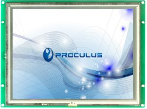 8′′ 1024*768 High Resolution TFT LCD with Resistive Touch Screen pictures & photos