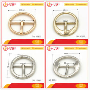 Round Buckle O Shape Buckle/Belt Buckle/Factory Wholesale pictures & photos