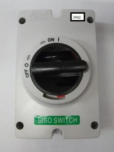 Solar DC Electrical Isolator Switch, Certificate: SAA, TUV, Ce, CB pictures & photos
