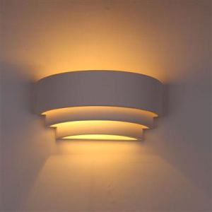 Sixu Plaster Wall Lamp Hr-1022 pictures & photos