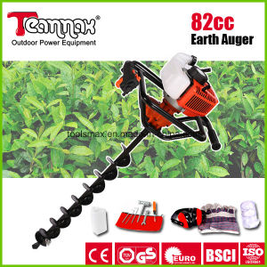 Teammax 82cc Easy Operation Gasoline Hand Post Hole Auger pictures & photos