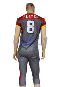 Wholesale Cheap Sublimation Custom American Football Shirts and Pants pictures & photos