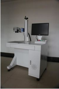 20W Fiber Laser Marking Machine for Surface Treatment pictures & photos