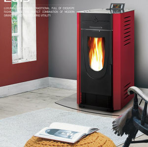 Electric Pellet Stove for Sale pictures & photos