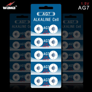 AG7 Alkaline Button Cell Battery pictures & photos