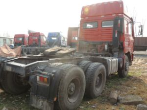 Used Shacman Tractor Head of Tractor Truck 420HP for Sale pictures & photos