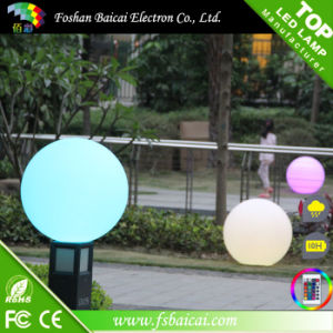 Customized Logo Printing LED Ball Light Outdoor