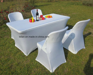 Outdoor Gargen Square Folding HDPE Table and Chair (LL-WST004) pictures & photos