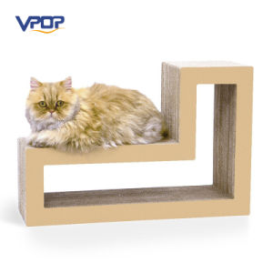 Factory Manufacturer Modular Cat Scratching Blocks Cardboard Cat Scratcher