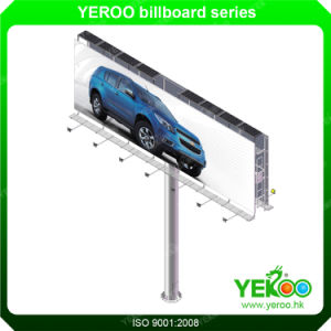 Durable of Advertising Equipment Solar Power LED Billboard in High Road pictures & photos