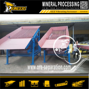 Self Centering Shaker Szz Sand Separation Vibrating Screener Mining