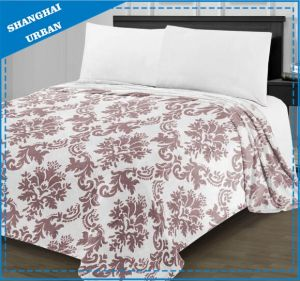 Super Soft Flannel Printed Blanket Bed Linen pictures & photos
