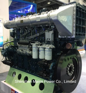 1200HP 1000rpm Yuchai Marine Diesel Engine Fishing Boat Inboard Motor pictures & photos