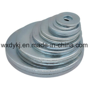 DIN125 Zinc Plated Carbon Steel Flat Washer pictures & photos