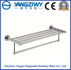Bathroom and Shower Clothes Wall Mounted Alloy Towel Rack