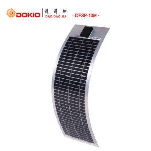10W Monocrystalline Semi Flexible Solar Panel pictures & photos