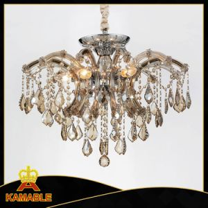 High Quality Modern Design Crystal Pendant Light (KAMD9816-6) pictures & photos