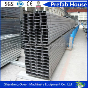 Steel Fabrication Used Cold Formed C Shape Steel Purlin for Sale pictures & photos