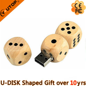 Boson Wood USB Flash Drive for Entertainment Gifts (YT-8127) pictures & photos