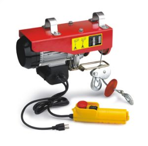 PA Mini Electric Hoist 480W Wire Rope Hoist pictures & photos