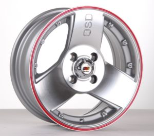 14 Inch Car Aluminum Wheels with PCD 4X100-114.3 pictures & photos
