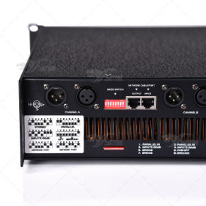 Professional Digital 2X1200W Big Power Amplifier pictures & photos