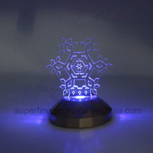 Battery Energy Customized Color Changing Magic Luminary Acrylic LED Light for Christmas pictures & photos