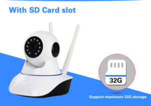 New Model 1080P Good Signal Two WiFi Network IP Camera pictures & photos