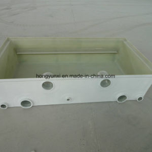 FRP Rectangular Desalination Tank Laminated by Hand Lay-up pictures & photos