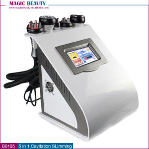 5 in 1 FDA Approved Ultrasonic Liposuction Cavitation Body Slimming Machine for Sale pictures & photos