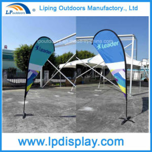 More Sizes Customized Flags and Banners Feather Teardrop Flags pictures & photos