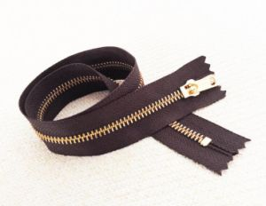 Metal Zipper for Y Teeth (4#brass)