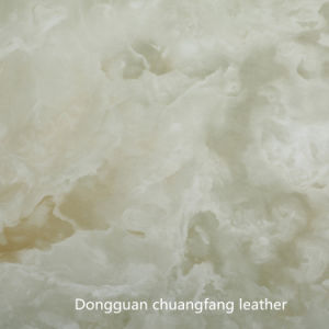 Hot Sale New Marbling PU PVC Decorative Leather pictures & photos