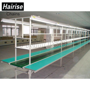 Hairise ISO Food Grade Straight PVC Belt Conveyor System pictures & photos
