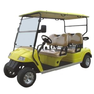 Ce Approved 4 Seats Mini Cheap Battery Powered Golf Car pictures & photos