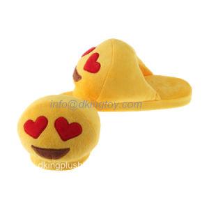 Hot Sale Fun Emoji Soft Plush Slipper pictures & photos