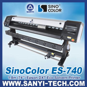 1.8m Large Format Banner Printer with Epson Dx7 Head, Sinocolor Es-740 pictures & photos