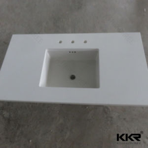 Resin Stone for Hotel Customized Kitchen Countertop pictures & photos