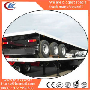 Container Carrier Skeleton Framing Semi-Trailer with 3 Axles pictures & photos