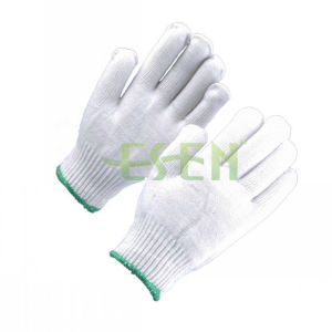 2017 Hot Sale Raw White 10gauge 55g Knitted Cotton Gloves Working Gloves Work Glove pictures & photos