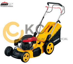 Kcl17inch Lawn Mower Gasoline/Petrol Loncin Engine Grass Cutter pictures & photos