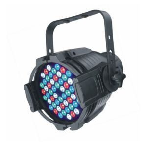 Indoor 54X3w RGBW LED PAR DMX PAR64 IP20 pictures & photos
